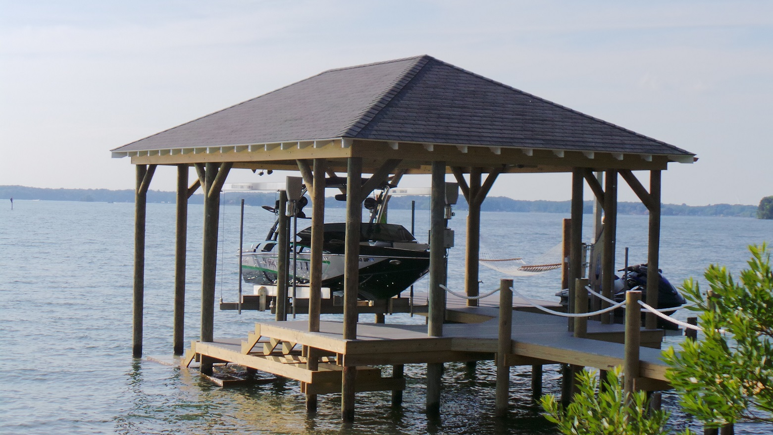 Lake norman dock builders fox docks premier dock Lake house builders